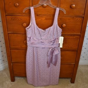 Maggy London Purple Dress with Bow